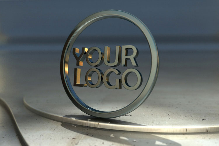 3d logo wallpaper