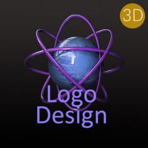 3d logo emblem