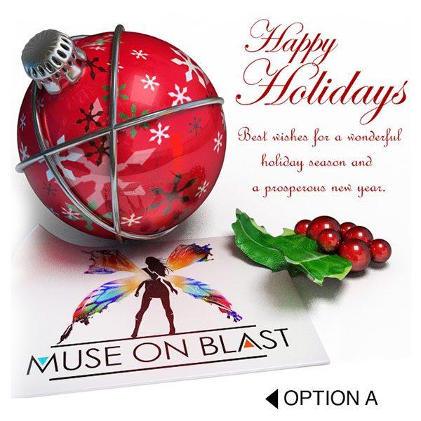 Business postcard holidays