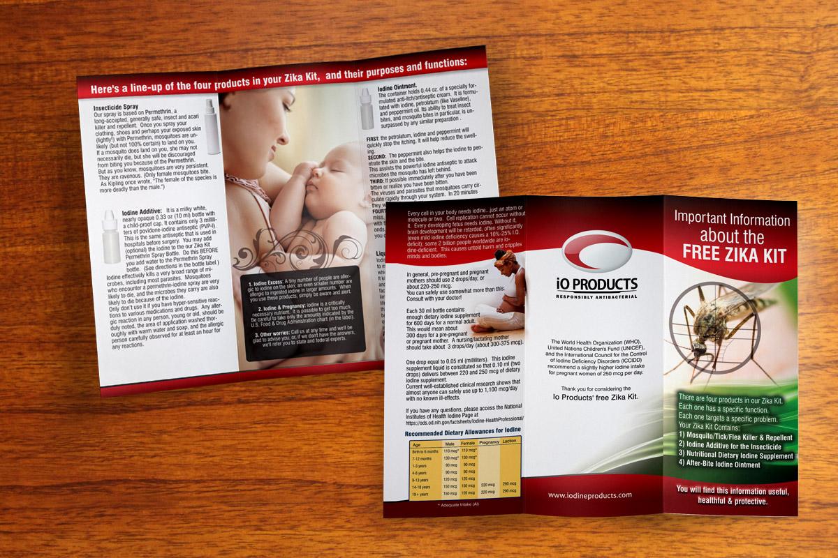 graphic design brochure miami