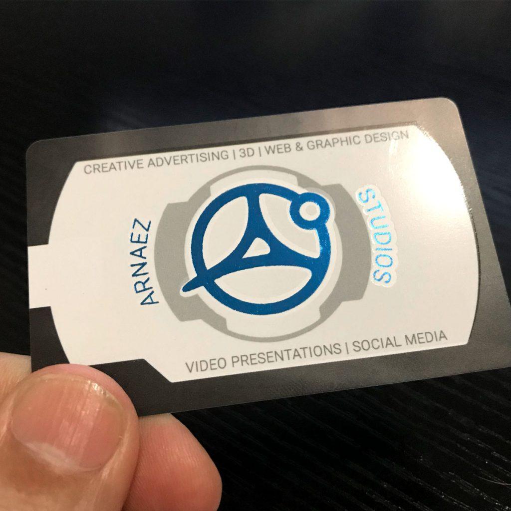 plastic business cards miami
