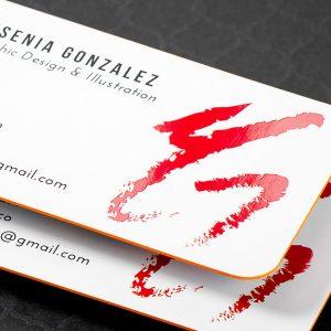 business cards silk Miami